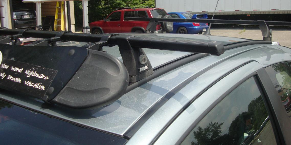 Bmw Thule Roof Bars Bmw 3 Series With Thule 460 Podium